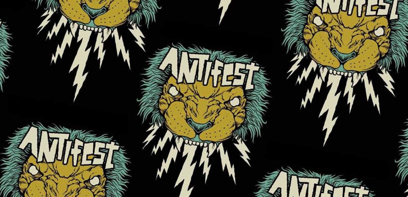 'ANTIFEST': [+]Anti-Flag[+] [-]+ Pagan + Microwave + Bitch Falcon + Milk Teeth + Petrol Girls + Slow Crush + Nervus + Arson[-]