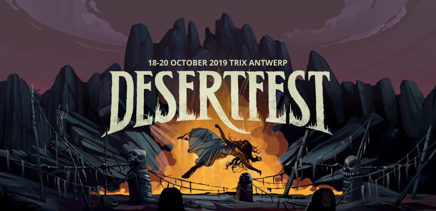 DESERTFEST 2019 - DAY 1: [-]BLACK MOON CIRCLE - GORE - MONOMYTH - NEBULA - SUNNATA - SWAN VALLEY HEIGHTS - TEMPLE FANG - TRUCKFIGHTERS - YATRA - ZEAL & ARDOR[-]