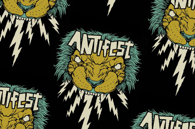 'ANTIFEST': [+]Anti-Flag ^us^[+] [-]+ Pagan ^au^ + Microwave ^us^ + Bitch Falcon ^ie^ + Milk Teeth ^gb^ + Petrol Girls ^gb^ + Slow Crush ^be^ + Nervus ^gb^ + Arson ^be^[-]