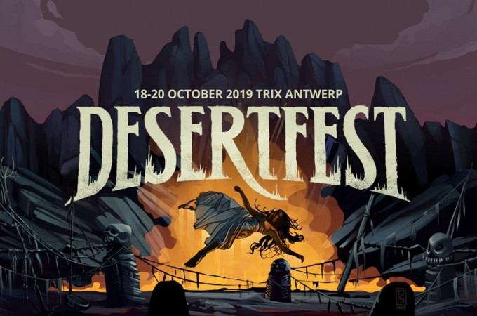 DESERTFEST 2019 - DAY 2: [-]30.000 MONKIES - BISMUT - BONGRIPPER - CHURCH OF MISERY - CROWHURST -  DOPELORD -  ELEPHANT TREE - FIREBALL MINISTRY - INTER ARMA - PELICAN - RUFF MAJIK - THE A.S. CLOUDESLEY SHOVELL - TY SEGALL AND THE FREEDOM BAND[-]