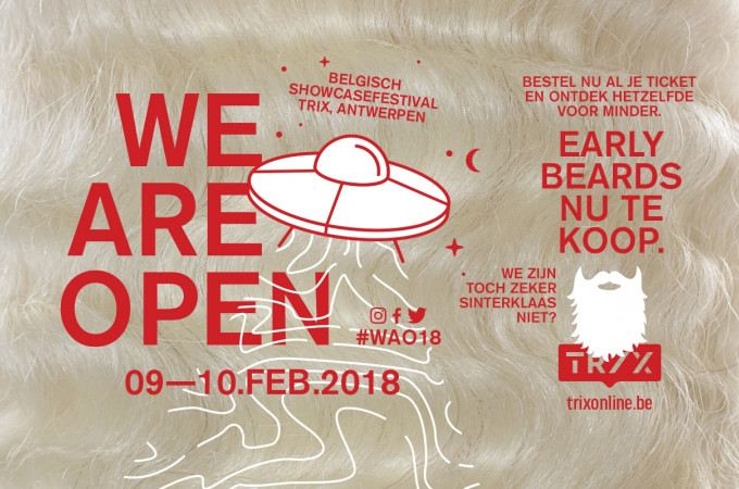 [+]'WE ARE OPEN 2018'[+]