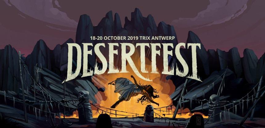 België boven op Desertfest 2019