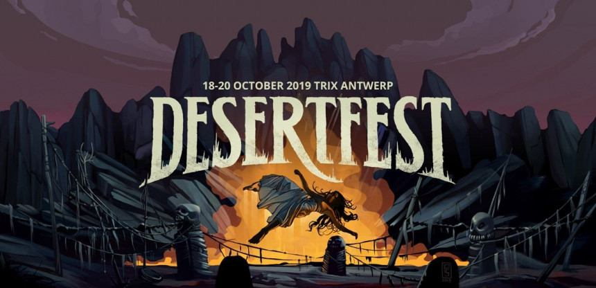Nieuwe namen Desertfest 2019: Big Business, Sixes, Un