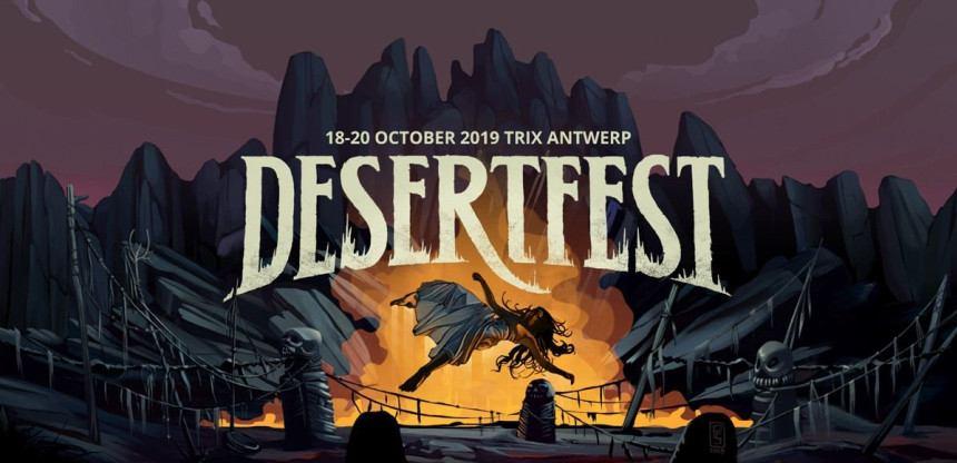CHURCH OF MISERY speelt op Desertfest 2019!